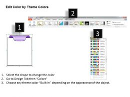 1013 Business Ppt Diagram Text Boxes With Tabs Powerpoint Template