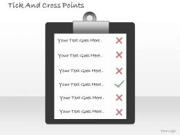 1013_business_ppt_diagram_tick_and_cross_points_powerpoint_template_Slide01