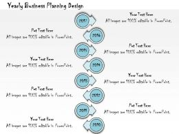1013 Business Ppt Diagram Yearly Business Planning Design Powerpoint Template