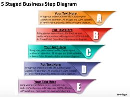 1013_business_strategy_5_staged_step_diagram_powerpoint_templates_ppt_backgrounds_for_slides_Slide01