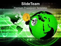 1013 Key Of The World Protection PowerPoint Templates PPT Themes And Graphics
