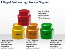 1013 Management Consulting Business 4 Staged Lego Process Diagram Ppt Templates Backgrounds For Slides