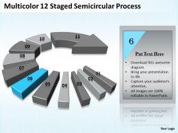 10829162 Style Circular Semi 12 Piece Powerpoint Presentation Diagram Infographic Slide
