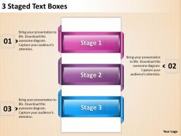 1013 Sales Management Consultant 3 Staged Text Boxes Powerpoint Templates PPT Backgrounds For Slides