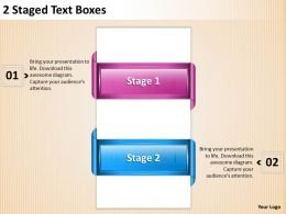 1013 Strategy Consultants 2 Staged Text Boxes Powerpoint Templates PPT Backgrounds For Slides