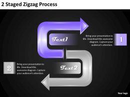 56168043 Style Circular Zig-Zag 2 Piece Powerpoint Presentation Diagram Infographic Slide