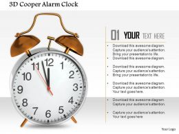 1014 3d Cooper Alarm Clock Image Graphics For PowerPoint