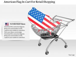 1014_american_flag_in_cart_for_retail_shopping_image_graphics_for_powerpoint_Slide01