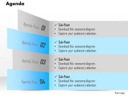 1014_business_plan_four_points_agenda_powerpoint_presentation_template_Slide01