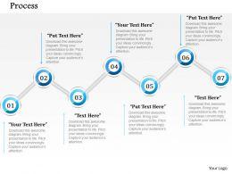 60935883 Style Circular Zig-Zag 7 Piece Powerpoint Presentation Diagram Infographic Slide