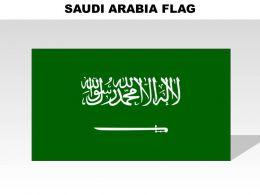 1014 Saudi Arabia Country Powerpoint Flags
