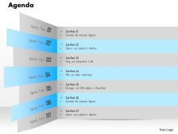 25289569 Style Essentials 1 Agenda 7 Piece Powerpoint Presentation Diagram Infographic Slide