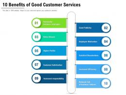 10 Benefits Of Good Customer Services