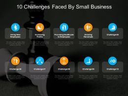 10 Challenges Faced By Small Business