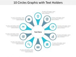 10 Circles Graphic With Text Holders