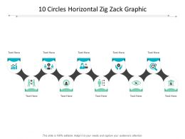 10 Circles Horizontal Zig Zack Graphic