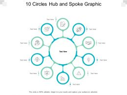 10 Circles Hub And Spoke Graphic