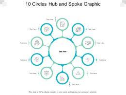 10 Circles Hub And Spoke Graphic