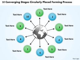 10_converging_stages_circularly_placed_forming_process_charts_and_powerpoint_slides_Slide01