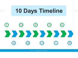 10 Days Timeline Information Technology Marketing Activities Business Planning