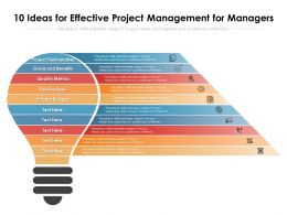 10 Ideas For Effective Project Management For Managers