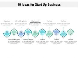 10 Ideas For Start Up Business