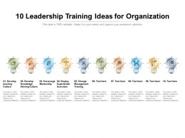 10 Leadership Training Ideas For Organization
