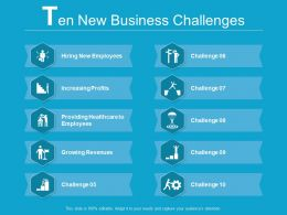 10 New Business Challenges