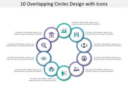 10 Overlapping Circles Design With Icons