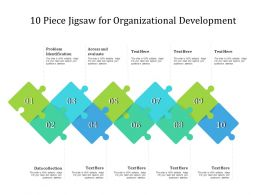 10 Piece Jigsaw For Organizational Development