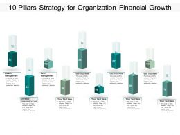 10 Pillars Strategy For Organization Financial Growth