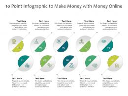 10 Point To Make Money With Money Online Infographic Template
