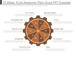 10 Slides To An Awesome Pitch Good Ppt Example