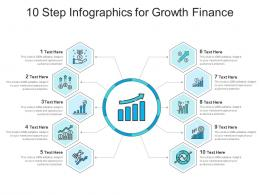 10 Step For Growth Finance Infographic Template