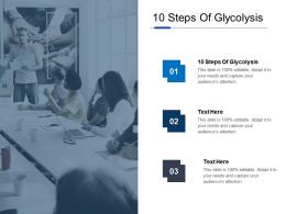 10 Steps Of Glycolysis Ppt Powerpoint Presentation Ideas Portrait Cpb