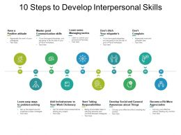 10 Steps To Develop Interpersonal Skills