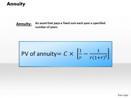 1103 Annuity Powerpoint Presentation