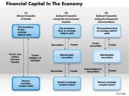 1103 Financial Capital In The Economy Powerpoint Presentation