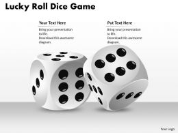 1103_strategic_management_lucky_roll_dice_game_mba_models_and_frameworks_Slide01