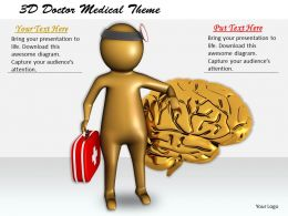 1113 3D Doctor Medical Theme Ppt Graphics Icons Powerpoint