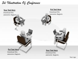 1113 3d Illustration Of Conference Ppt Graphics Icons Powerpoint