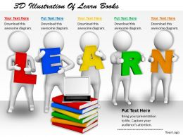1113_3d_illustration_of_learn_books_ppt_graphics_icons_powerpoint_Slide01