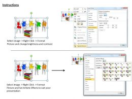 1113 3D Illustration Of Learn Books Ppt Graphics Icons Powerpoint