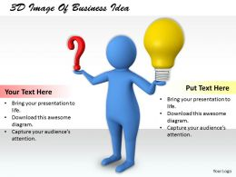 1113 3D Image Of Business Idea Ppt Graphics Icons Powerpoint