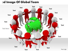 1113 3d Image Of Global Team Ppt Graphics Icons Powerpoint