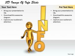 1113 3D Image Of Info Slide Ppt Graphics Icons Powerpoint