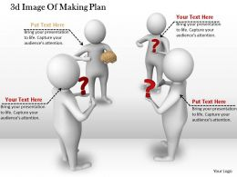 1113 3d Image Of Making Plan Ppt Graphics Icons Powerpoint