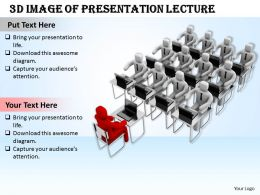 1113 3d Image Of Presentation Lecture Ppt Graphics Icons Powerpoint