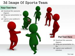 1113 3d Image Of Sports Team Ppt Graphics Icons Powerpoint