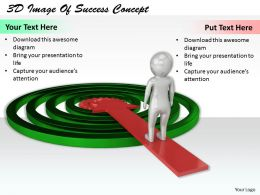 1113 3D Image Of Success Concept Ppt Graphics Icons Powerpoint
